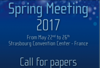 E-MRS SPRING MEETING
