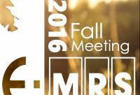 E-MRS Fall Meeting and Exhibit