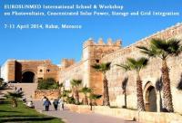 EUROSUNMED International School and Workshop, April 2014